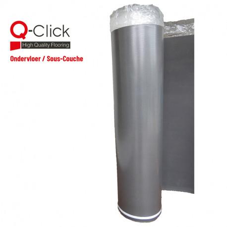 Q-Click Reduction Sound Ondervloer - 15m²/rol