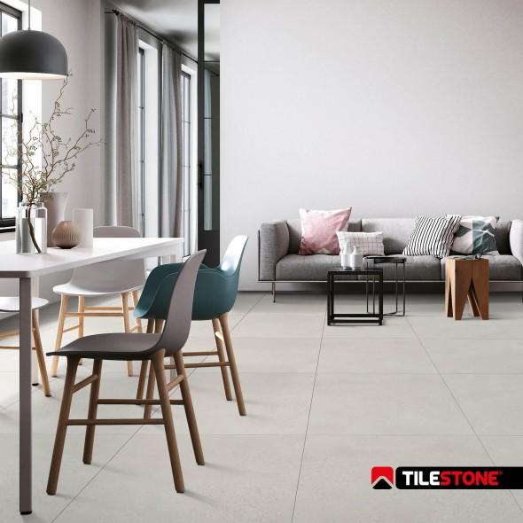 keramische vloertegel, vloertegels, lichtgrijs, volkeramisch, tilestone, impermo