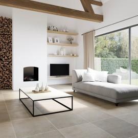 natuursteen vloertegel, vloertegels, kalksteen, beige, impermo