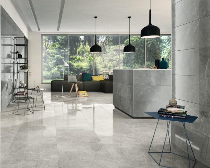 impermo gepolijste keramische tegel met natuursteenlook voor vloer of wand