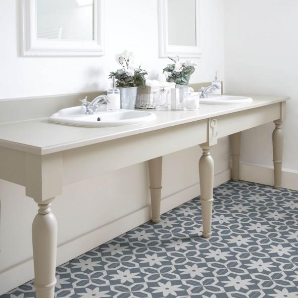 keramische vloertegel, vloertegels, patroontegels, blauwwit, paul and jane, impermo