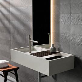 keramische wandtegel, wandtegels, natuursteen, donker grijs, Impermo, modern, minimalistisch