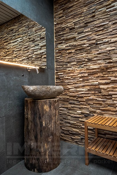 Whirlpool Bad Lid Switch ~ impermo houtstrips teak wandpaneel voor badkamer of keuken