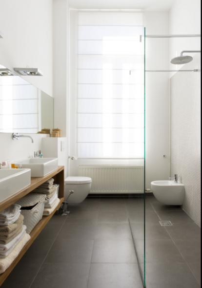waskom, wit, rechthoekige lavabo