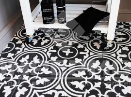 Badkamertegels inspireer je bij impermo - Tegelvloer patroon ...