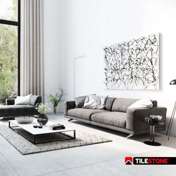 keramische vloertegel, vloertegels, betonlook, grijs, tilestone, impermo