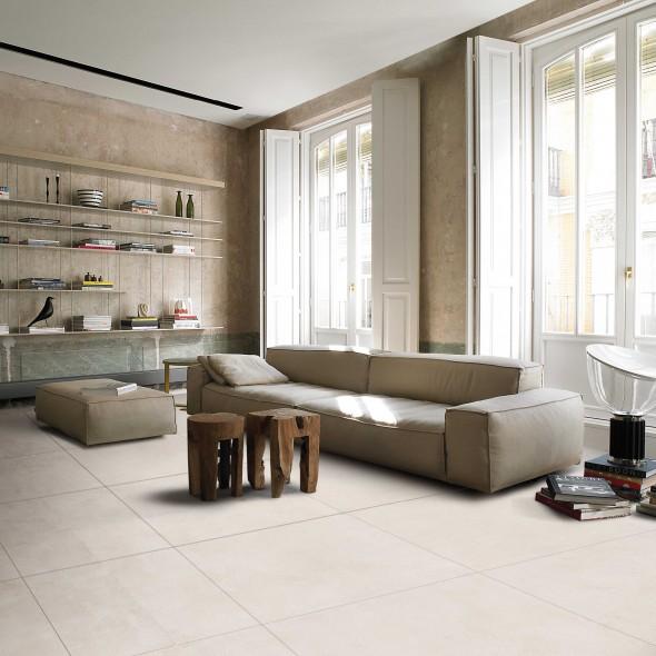 keramische vloertegel, vloertegels, beige, impermo