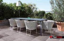 keramische terrastegel, terrastegels, grijs, tilestone, impermo